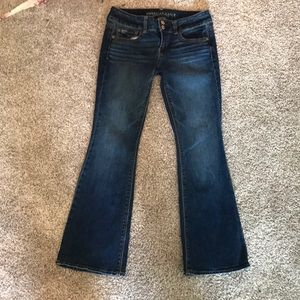 American Eagle Artist Stretch Jeans Size 4 short